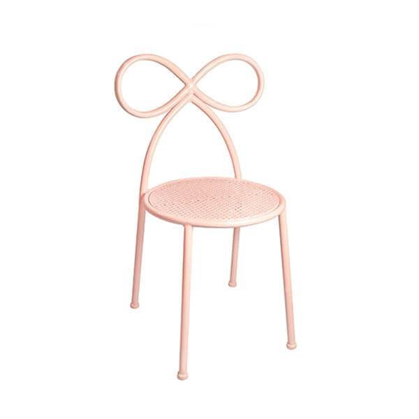 Toddler Bow Chair, Blush