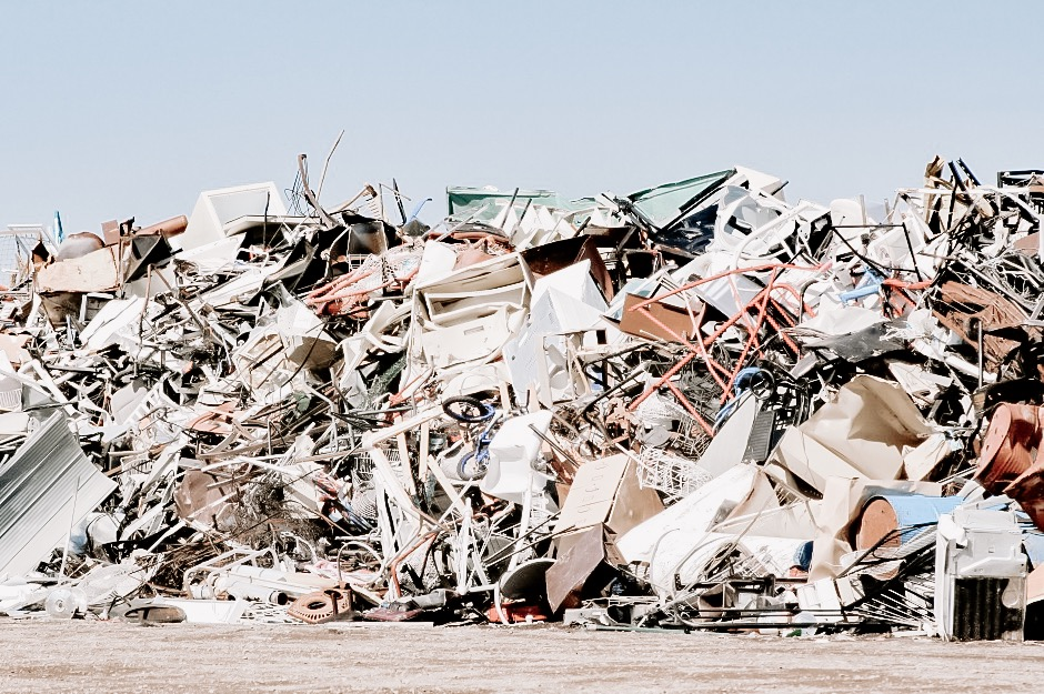fast furniture in landfill