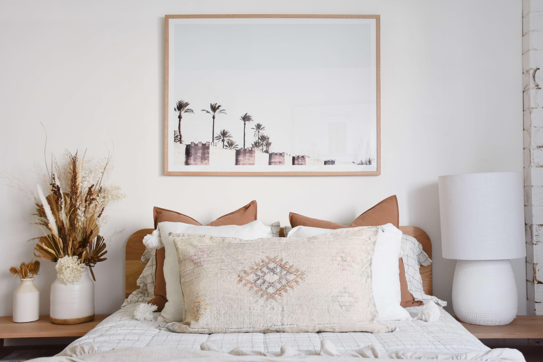 Create an on-trend bedroom look with earthy tones sunshine coast