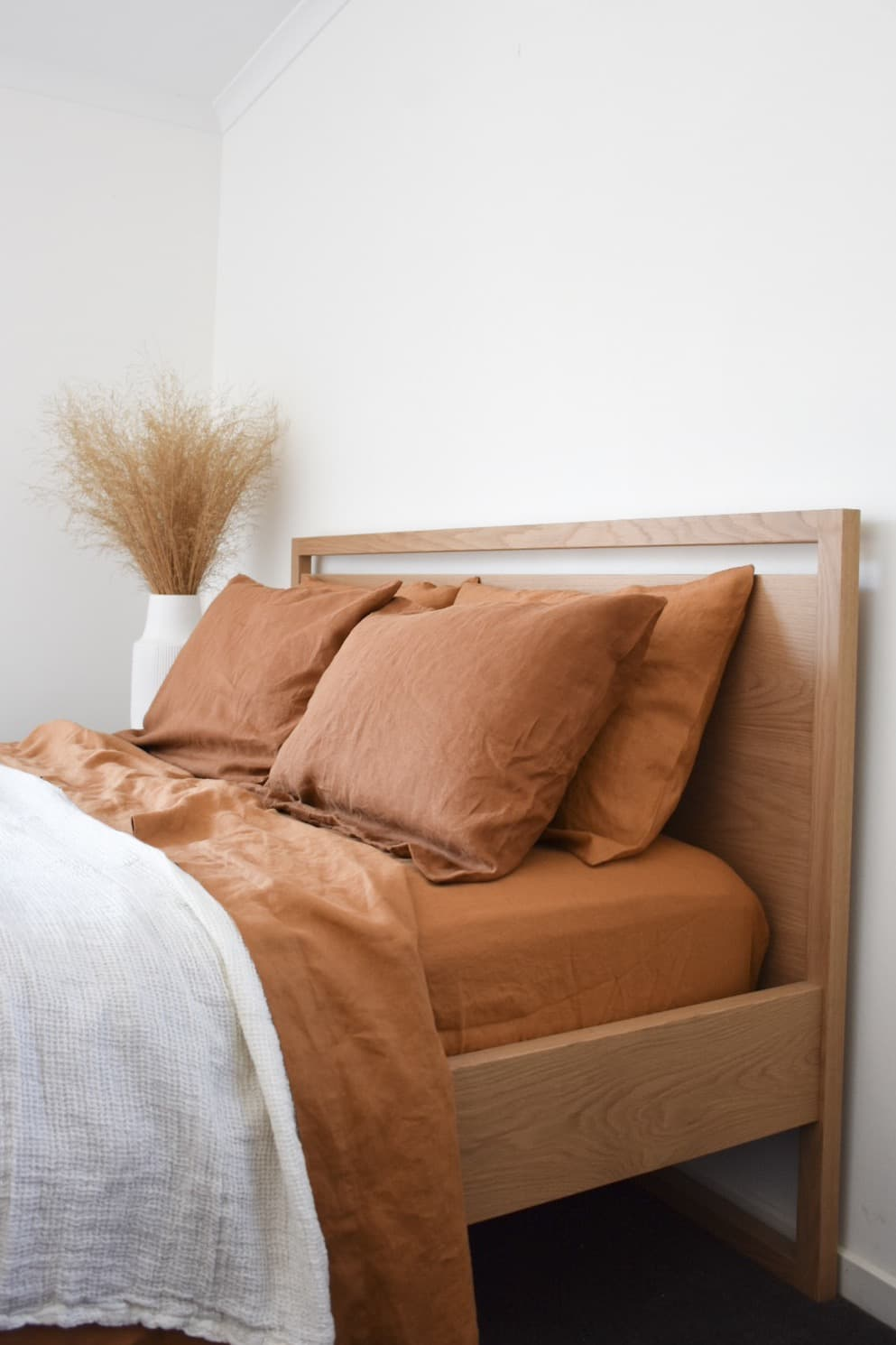 The Best Linen On Earth French Flax Flat Sheet Raw Sunshine Coast